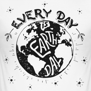 earthday - Männer Slim Fit T-Shirt
