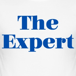 The Expert - Men's Slim Fit T-Shirt