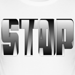 Stop War 003 AllroundDesigns - Men's Slim Fit T-Shirt