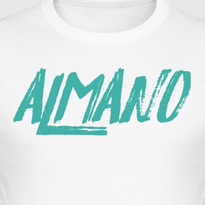almanosummer - Slim Fit T-skjorte for menn