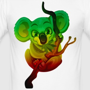 Rasta Koala - Men's Slim Fit T-Shirt