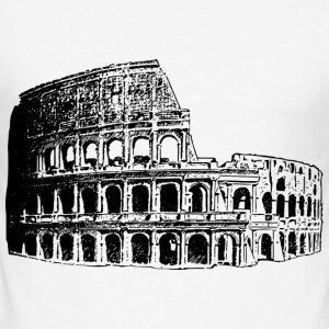 Colosseum - Männer Slim Fit T-Shirt