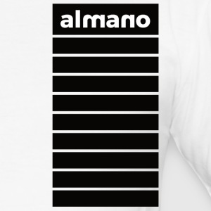 almanolarge - Männer Slim Fit T-Shirt