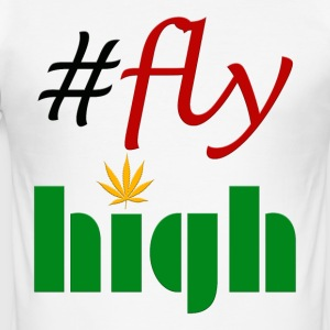 #flyhigh - Men's Slim Fit T-Shirt