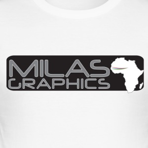 Milas Graphics Africa - Tee shirt près du corps Homme