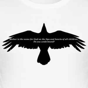 The Crow -Mother - Men's Slim Fit T-Shirt