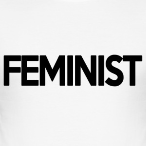 feminist - slim fit T-shirt