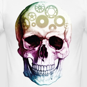 Skull engine - Men's Slim Fit T-Shirt
