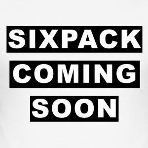 Sixpack Coming Soon - Männer Slim Fit T-Shirt