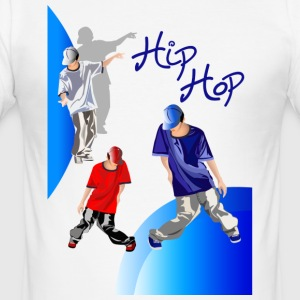 hiphop Design - Männer Slim Fit T-Shirt