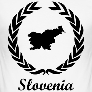 "Slut ExYu Shirt ""Slovenien"" - Herre Slim Fit T-Shirt"