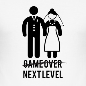 JGA / Bachelor: Game over - Next Level - Herre Slim Fit T-Shirt