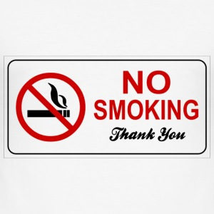 smoking ban - Men's Slim Fit T-Shirt
