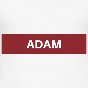 Adam - Slim Fit T-shirt herr