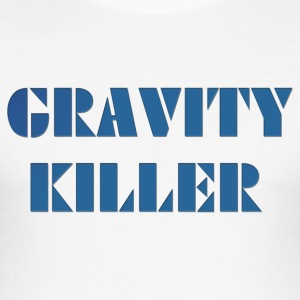 Gravity Killer - Slim Fit T-skjorte for menn