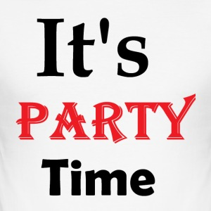 Dens Party Time - Herre Slim Fit T-Shirt