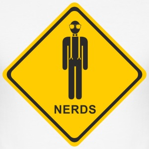 nerd nerds - Slim Fit T-shirt herr