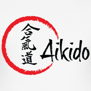 Aikido - Men's Slim Fit T-Shirt