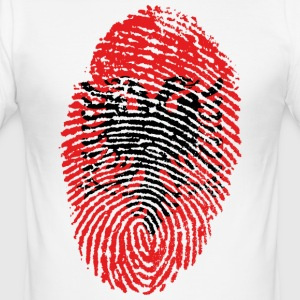 ALBANIEN 4 NÅGONSIN COLLECTION - Slim Fit T-shirt herr