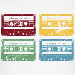 RETRO CASSETTE SET - slim fit T-shirt