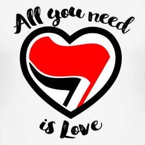 Love Antifa - Hate Fascism