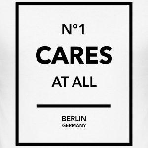 N°1 Cares at all - Männer Slim Fit T-Shirt