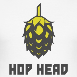 Hop Head (Darker) - Men's Slim Fit T-Shirt