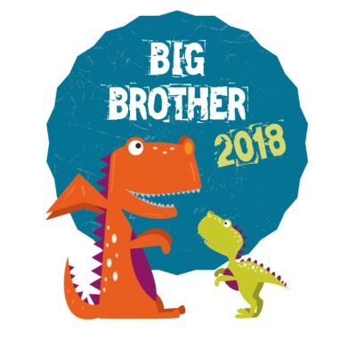Big Brother Søskende Brother 2018 T-shirt