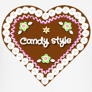 Candy stil - Slim Fit T-skjorte for menn