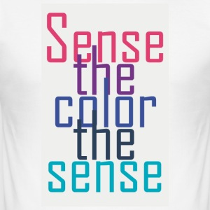 Sensethecolor - Slim Fit T-skjorte for menn