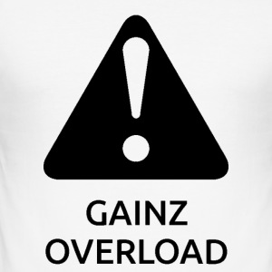 GAINZOVERLOAD BonW - Slim Fit T-shirt herr