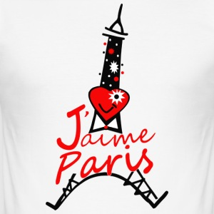 j-aime_paris - Männer Slim Fit T-Shirt