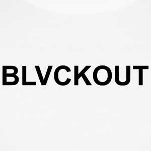 BLVCKOUT - Slim Fit T-skjorte for menn
