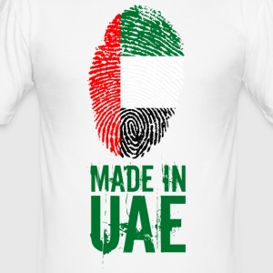 Made In UAE / De forente arabiske emirater - Slim Fit T-skjorte for menn