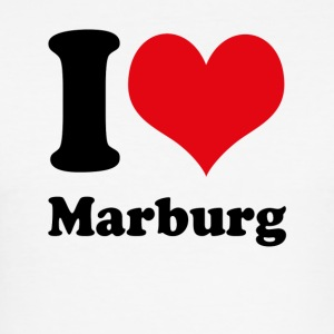 I love Marburg - Männer Slim Fit T-Shirt