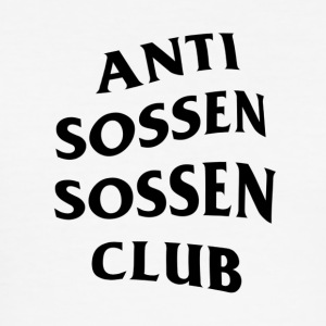 Anti Sossen Sossen Club - Herre Slim Fit T-Shirt