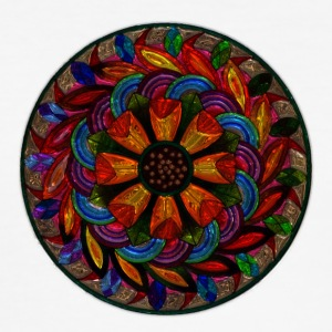 Mandala - Herre Slim Fit T-Shirt