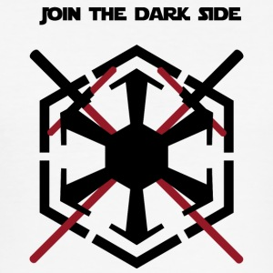 Join the dark side - Tee shirt près du corps Homme