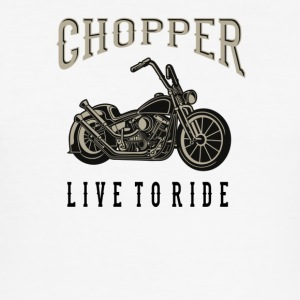 chopper - Slim Fit T-skjorte for menn