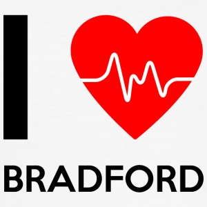 I Love Bradford - I love Bradford - Men's Slim Fit T-Shirt