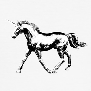 unicorn - Slim Fit T-skjorte for menn