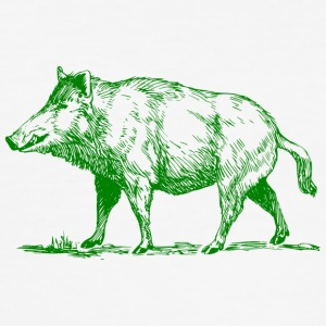 wild boar - Men's Slim Fit T-Shirt