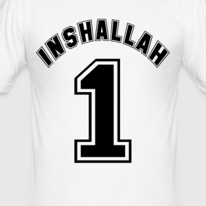 Inshallah - Slim Fit T-shirt herr