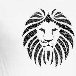 lion's head - Men's Slim Fit T-Shirt