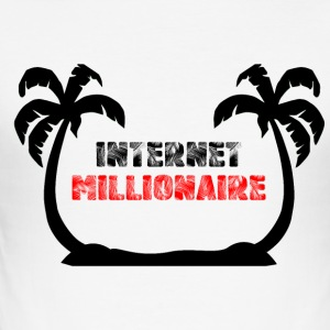 Internet miljonär COLLECTION - Slim Fit T-shirt herr