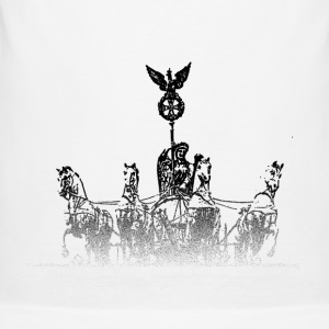 Around the World: Quadriga - Berlijn - slim fit T-shirt
