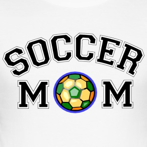 Fotballmamma - Slim Fit T-skjorte for menn