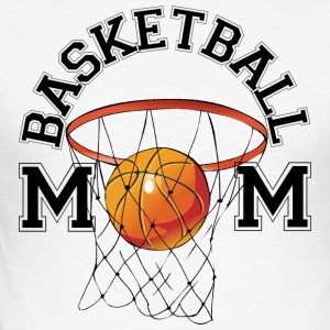 basket mamma - Slim Fit T-shirt herr