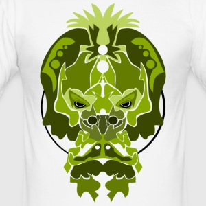 Jade Monkey Dämon - Männer Slim Fit T-Shirt