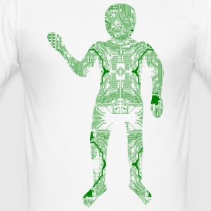 Hardware Digital Man - Camiseta ajustada hombre